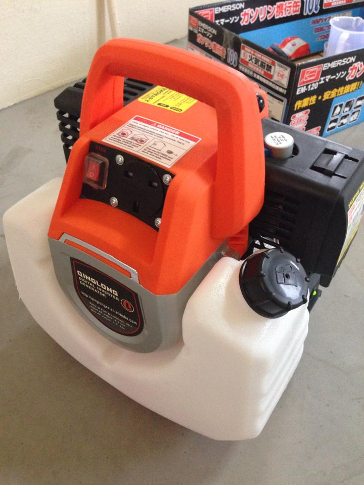 2 Stroke Petrol Digital Inverter