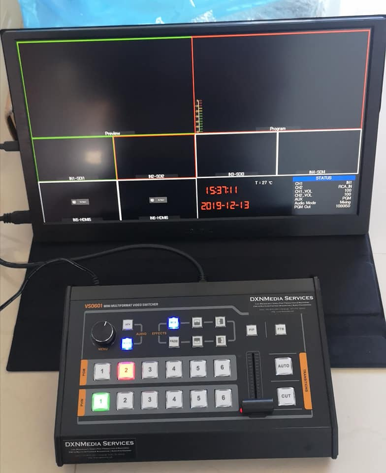 Compact Video Switcher